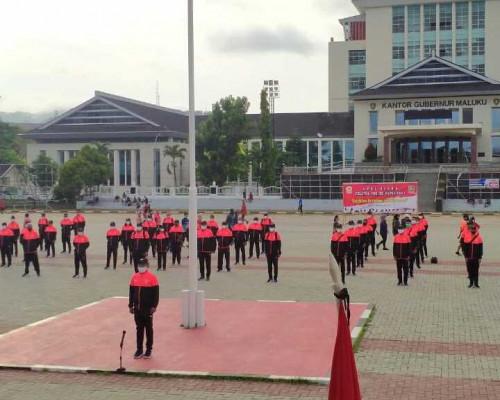 Sekda Pimpin Apel Siaga Pelatda PON XX Papua