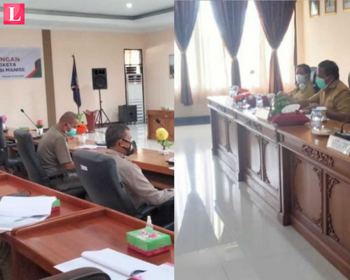 Apresiasi Realisasi DBH, Bupati Minta PT Nusa Ina Tetap Dampingi Pemneg Bagi Uang Ke Warga Berhak