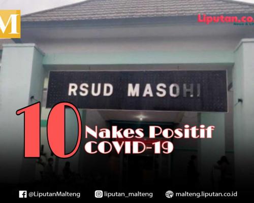 10 Nakes Yang Bertugas di RSUD Masohi Positif COVID-19