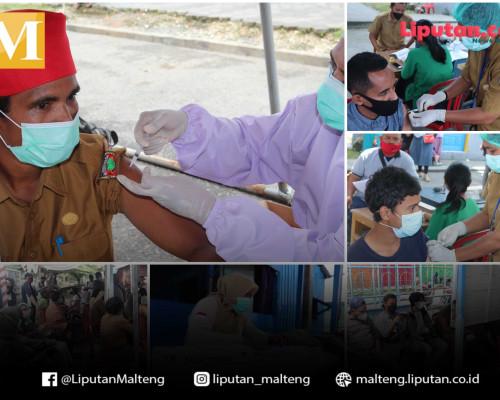 Vaksinasi di Terminal Masohi akan Berlangsung dua Pekan